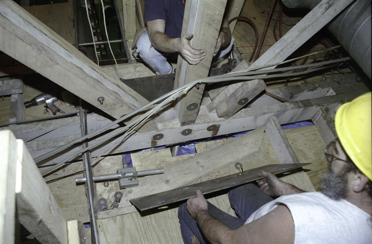 Heavy Timber Truss / Bow String Truss Repair - Structural